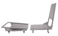 3187L   REMOVABLE FOLDING JUMP SEAT - LEFT