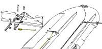 108-1141206   STINSON AILERON IDLER CABLE