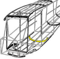 108-3001427   STINSON FUSELAGE BOW ASSEMBLY