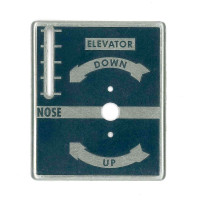 108-8742000   STINSON TAB CONTROL PLACARD