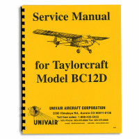 TSM   TAYLORCRAFT BC12D SERVICE MANUAL