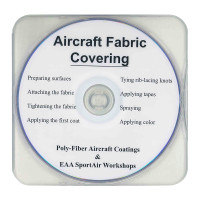 11-PFDVD   EAA AIRCRAFT FABRIC COVERING DVD