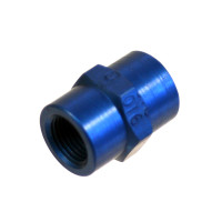 AN910-1D   FITTING COUPLING - ALUMINUM