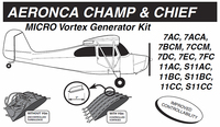 VG5032   MICRO VORTEX GENERATOR KIT - AERONCA