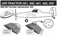 VG5038   MICRO VORTEX GENERATOR KIT - AIR TRACTOR