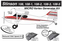 VG5072   MICRO VORTEX GENERATOR KIT - STINSON 108 SERIES