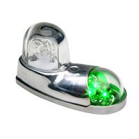 01-0771110-01   WHELEN LED POSITION LIGHT - GREEN - 14 VOLT
