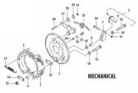 C7000   CLEVELAND MECHANICAL BRAKE ASSEMBLY