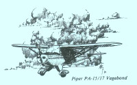 S-PA15   STATIONERY SET - PIPER PA-15/17