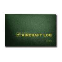 ASA-SA-2   STANDARD AIRCRAFT LOG - HARD COVER
