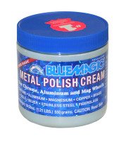 500-12   BLUE MAGIC METAL POLISH CREAM