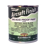 RANDOLPH ACID PROOF BATTERY BOX BLACK PAINT