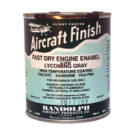RANDOLPH ENGINE ENAMEL - LYCOMING GRAY