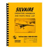 L8WM   SILVAIRE OPERATORS HANDBOOK AND PARTS PRICE LIST