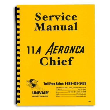 11sm aeronca 11ac service manual univair aircraft corporation rh univair com Aeronca Chief Drawings aeronca chief 11ac service manual