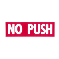 -150059-021   MOONEY NO PUSH DECAL