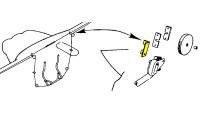 -181073   LUSCOMBE AILERON FAIRLEAD BRACKET