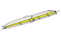 U38271-4   LUSCOMBE AILERON SPAR - RIGHT