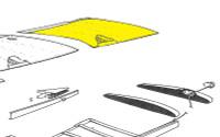 U082201-6   LUSCOMBE TOP OUTBOARD PANEL - LEFT