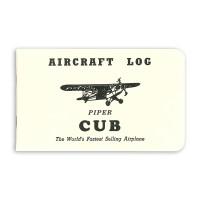-750-111   PIPER CUB AIRCRAFT LOGBOOK