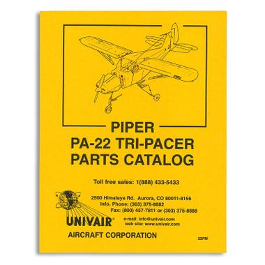 22pm piper pa 22 parts manual univair aircraft corporation rh univair com PA 22 Colt Piper PA 22-108 Tail Wheel