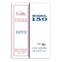 D962-13   CESSNA 150L OWNERS MANUAL 1973
