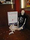 Roger D. Bones anxiously awaiting Bubba Hotep