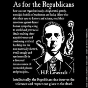 What HPL really thought about the Republican Party