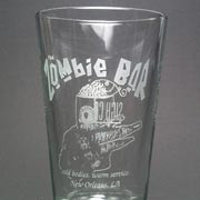 New Orleans coldspot The Zombie Bar now has an official etched glass.
