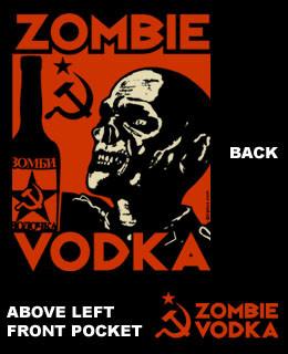 Zombie Vodka Work Shirt