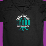 Zip up hoody featuring Esoteric Order of Dagon emblem
