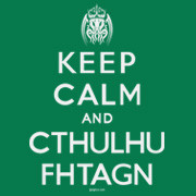 Keep Calm and Cthulhu Fhtagn t-shirt