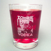 Zombie Vodka Tumbler glass