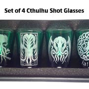 Cthulhu Shot Glass Set of 4