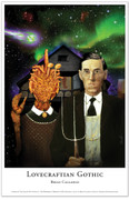 Lovecraftian Gothic Limited Edition fine art print