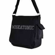 Miskatonic canvas messenger bag