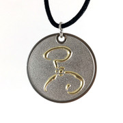 Yellow Sign two-tone amulet