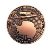 Antarctic Expedition Challenge Coin