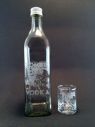 Zombie Vodka Bottle Set