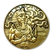 Nyarlathotep Black Pharoah coin