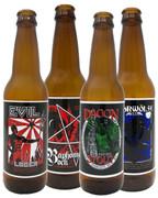 Reusable vinyl beer label variety pack