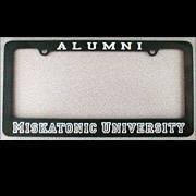 Miskatonic U. License Plate Frame