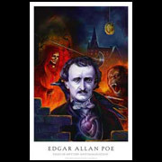Edgar Allan Poe Lee Moyer poster