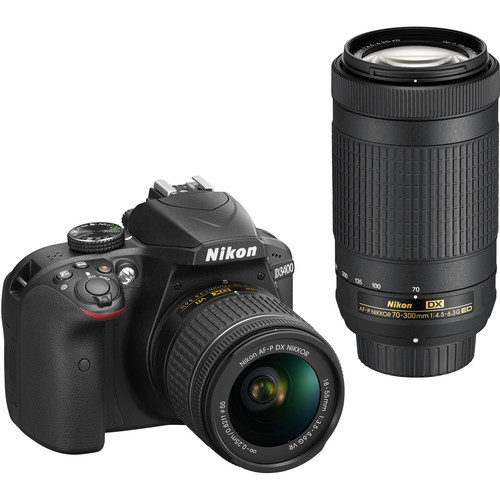 Nikon D3400 With 18-55mm & 70-300mm