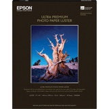 "Epson Ultra Premium Photo Paper Luster- 17""x22"" (25 Sheets)"
