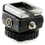 PCV Hot Shoe Adapter to PC without Cord - Male and Female