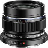 Olympus M ED 12mm f/2.0 Lens - Black