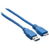 Hosa Technology SuperSpeed Type-A to Micro-B USB 3.0 Cable (6')