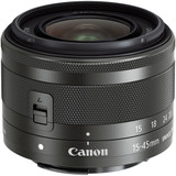 Canon EF-M 15-45mm f/3.5-6.3 IS STM Lens- Black *Special Order Only*