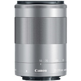 Canon EF-M 55-200mm f/4.5-6.3 IS STM Lens- Silver *Special Order Only*